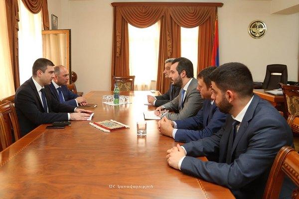 Գրիգորի Մարտիրոսյանն ընդունել է Հայաստանի զարգացման հիմնադրամի գործադիր տնօրենին