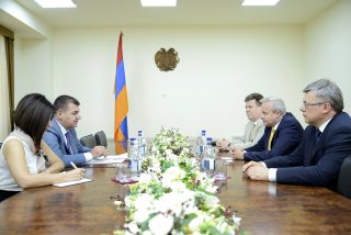 Աշոտ Հակոբյանն ու Սերգեյ Կոպիրկինը քննարկել են հայ-ռուսական տնտեսական հարաբերությունների մի շարք հարցեր