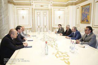 Վարչապետ Նիկոլ Փաշինյանը հանդիպել է Համաշխարհային բանկի խմբի անդամ Միջազգային ֆինանսական կորպորացիայի տարածաշրջանային կառավարիչ Յան Վան Բիլսենի գլխավորած պատվիրակության հետ