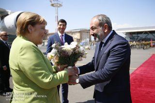 Գերմանիայի Դաշնային Հանրապետության կանցլեր Անգելա Մերկելը պաշտոնական այցով Հայաստանում է