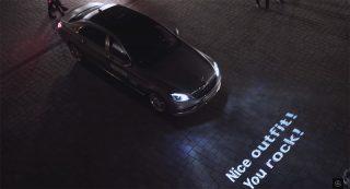 Mercedes-Benz-ի «խոսացող» լուսարձակները