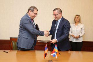 ՊԵԿ նախագահը Երևանում ընդունել է Արցախի Հանրապետության ֆինանսների նախարարին