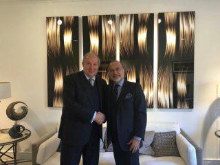Արմեն Սարգսյանը հանդիպել է Օլիվիեր Դասոյի հետ