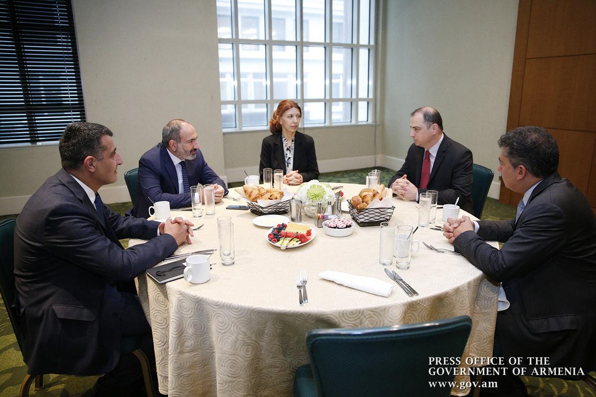 Վարչապետը հանդիպել է «Կոնտուր Գլոբալ» միջազգային ընկերության գործադիր տնօրեն Ժոզեֆ Բրանդտին