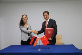 Հայաստանի և Չինաստանի միջև օդային հաղորդակցությունների մասին համաձայնագիր է ստորագրվել