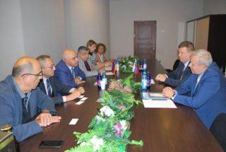 ՀՀ-ում ՌԴ դեսպան Սերգեյ Կոպիրկինն այցելել է Հայաստանի արդյունաբերողների և գործարարների միություն