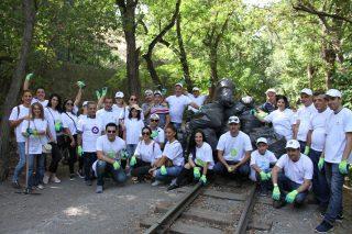 Հայաստանում Beeline-ի աշխատակիցները մասնակցեցին Համաշխարհային մաքրության օրվա աշխատանքներին