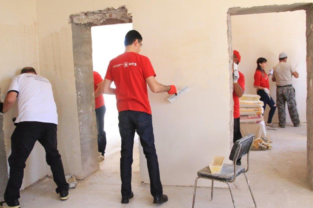 ՎիվաՍել-ՄՏՍ-ը և Ֆուլեր տնաշինական կենտրոնը դարձյալ տուն են կառուցում