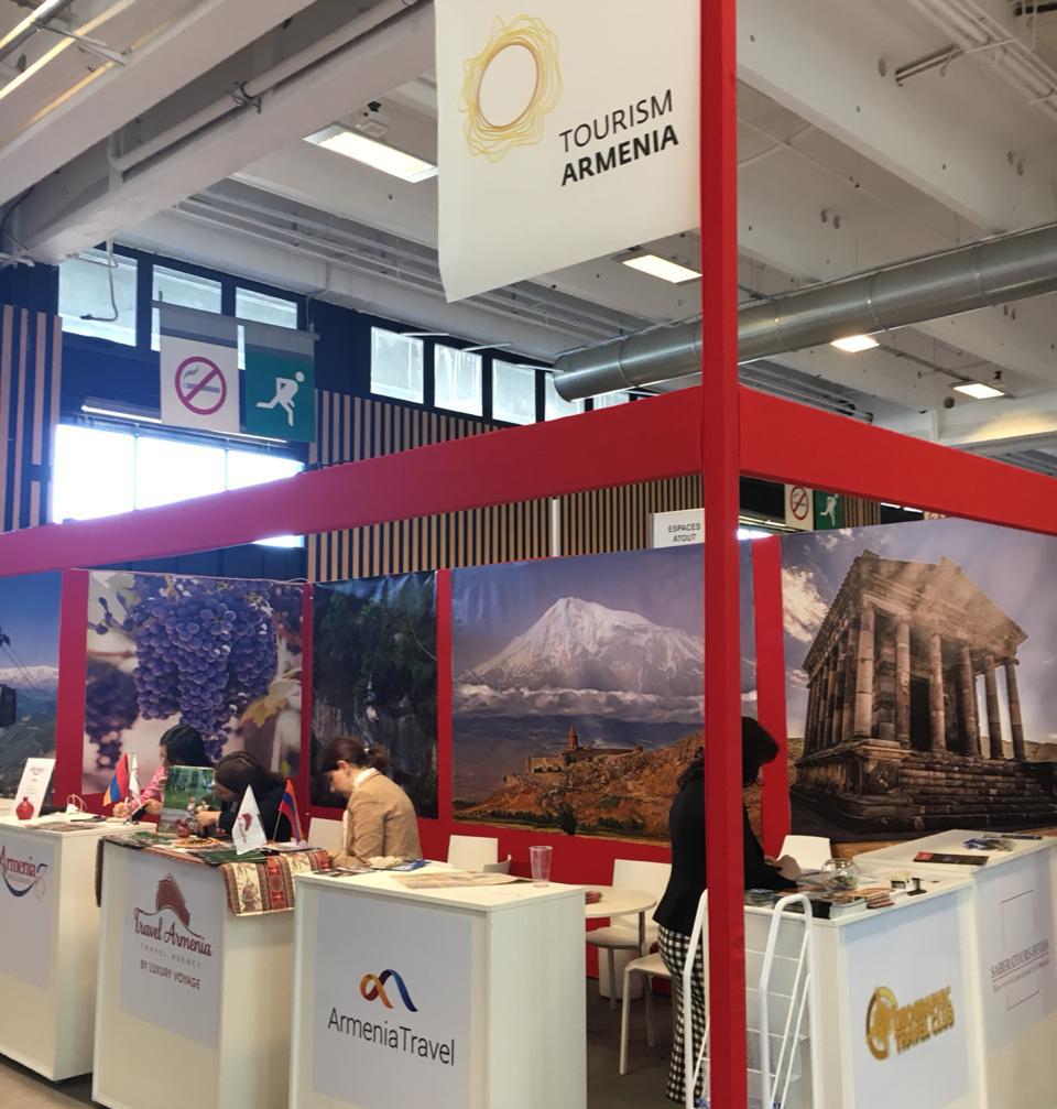 Ֆրանկոֆոնիայի գագաթնաժողովին ընդառաջ Հայաստանը ներկայացվել է Փարիզի միջազգային ցուցահանդեսում