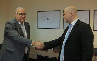 Գարեգին Բաղրամյանն ընդունել է ՎԶԵԲ-ի հայաստանյան գրասենյակի ղեկավար Դմիտրի Գվինդաձեին