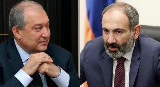 Արմեն Սարգսյանի և Նիկոլ Փաշինյանի հանդիպումը՝ գործարարների հետ․ ուղիղ