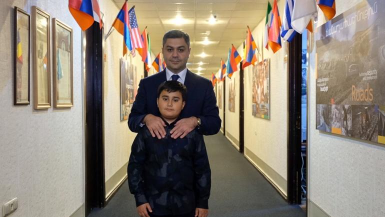 ԱԱԾ-ն մոտ 10 մլն դրամ է նվիրաբերել «Հայաստան» համահայկական հիմնադրամին