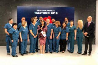«Հեռուստամարաթոն-2018»-ի ընթացքում հանգանակվեց 11 մլն 109 հազար դոլար