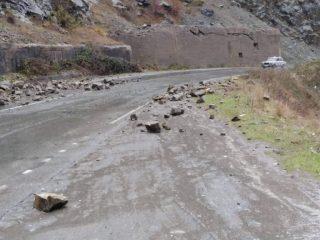 Կապան-Քաջարան ճանապարհին տեղի ունեցած քարաթափման հետևանքները վերացվել են