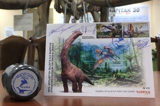 Շրջանառության մեջ է դրվել երկու նոր նամականիշ՝ նվիրված «Հին աշխարհի ֆլորա և ֆաունա. Դինոզավրեր» թեմային