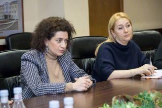 Աննա Հակոբյանն Արսեն Թորոսյանի հետ քննարկել է մանկական քաղցկեղի դեմ պայքարում համագործակցության ուղիները
