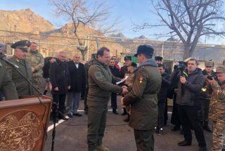 Ագարակ քաղաքում 20 զինծառայող բնակարան է ստացել