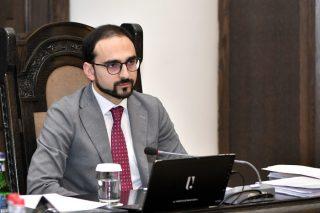 Կառավարության հերթական նիստը վարել է Տիգրան Ավինյանը