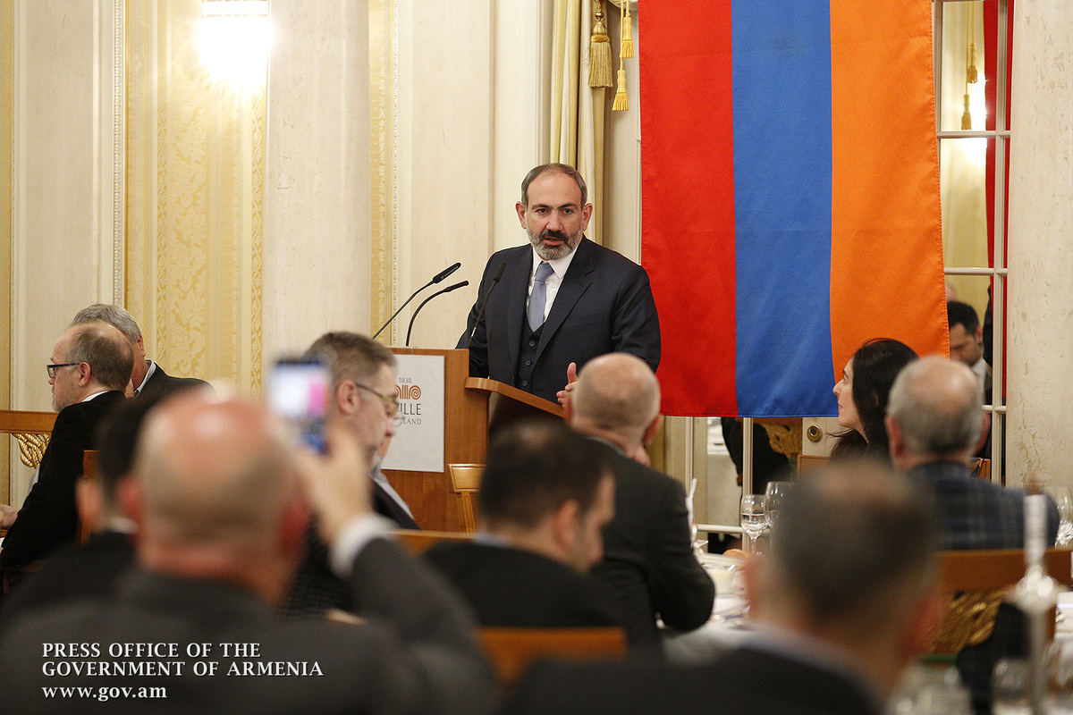 Նիկոլ Փաշինյանը շվեյցարացի գործարարներին առաջարկել է ներդրումներ անել Հայաստանում