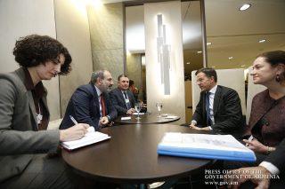 Նիկոլ Փաշինյանը և Մարկ Ռուտեն քննարկել են Հայաստանի և Նիդեռլանդների միջև տնտեսական կապերի զարգացման հեռանկարները