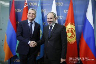 Վարչապետ Նիկոլ Փաշինյանը ներկայացրել է ԵԱՏՄ-ում Հայաստանի նախագահության առաջնահերթությունները