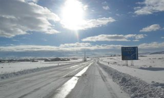 Մարտունու, Կոտայքի ավտոճանապարհներին և Սպիտակի ոլորաններում տեղ-տեղ մերկասառույց է