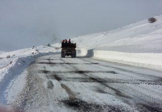 Աշոցքի և Ապարանի ավտոճանապարհներին ձյուն է տեղում