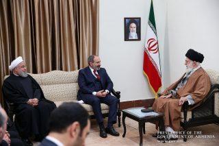 Նիկոլ Փաշինյանը հյուրընկալվել է Իսլամական հեղափոխության գերագույն առաջնորդ Այաթոլլա Սեյեդ Ալի Խամենեիին