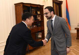 Փոխվարչապետ Տիգրան Ավինյանն ընդունել է Չինաստանի դեսպանին