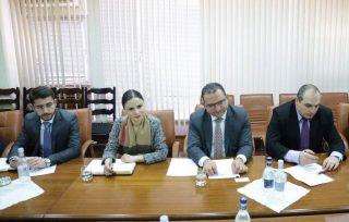 Տիգրան Խաչատրյանը հանդիպել է ԵՄ Արևելյան գործընկերության հարցերով հատուկ դեսպաններին