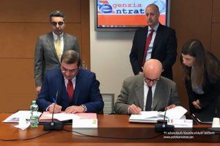 Դավիթ Անանյանը և Իտալիայի եկամուտների գործակալության ղեկավարը քննարկել են համագործակցության հեռանկարները