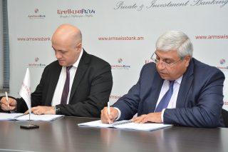 Արմսվիսբանկ. ՓՄՁ և էներգաարդյունավետության ծրագրերի շրջանակներում ՎԶԵԲ-ի հետ կնքվել են վարկային պայմանագրեր