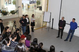 Հայաստանի Գործատուների հանրապետական միության հետ համատեղ ծրագրի շրջանակում դպրոցականներն այցելեցին Beeline