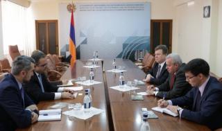 Տիգրան Խաչատրյանը և Սերգեյ Կոպիրկինը քննարկել են հայ-ռուսական առևտրատնտեսական կապերը