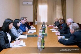 ՊԵԿ. Դավիթ Անանյանն ընդունել է ԱՄՀ առաքելության պատվիրակությանը
