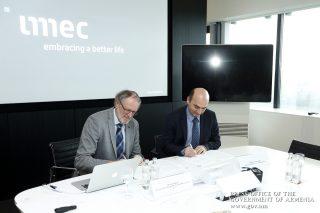Փոխըմբռնման հուշագիր՝ IMEC գիտահետազոտական կենտրոնի և Ձեռնարկությունների ինկուբատոր հիմնադրամի միջև