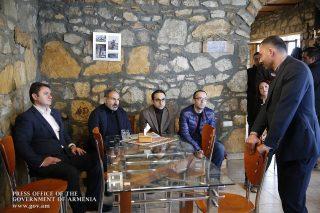 Նիկոլ Փաշինյանին է ներկայացվել Ենոքավանի զարգացման ռազմավարությունը
