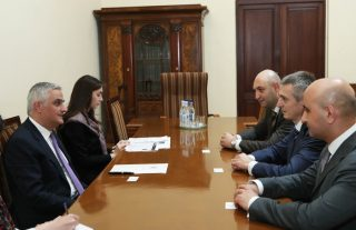 Փոխվարչապետ Մհեր Գրիգորյանն ընդունել է Կայունացման և զարգացման եվրասիական հիմնադրամի տնօրենին