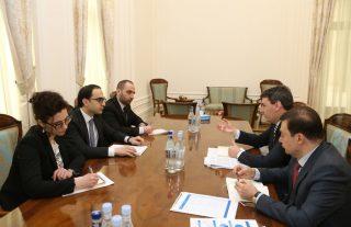 Փոխվարչապետ Տիգրան Ավինյանն ընդունել է Եվրոպական ներդրումային բանկի ներկայացուցչին
