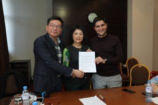 ԱՏՁՄ վարչության անդամները հանդիպել են Թայբեյի պատվիրակության հետ