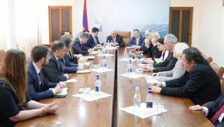 Տիգրան Խաչատրյանը գերմանացի գործարարներին է ներկայացրել Հայաստանի ներդրումային գրավչությունները