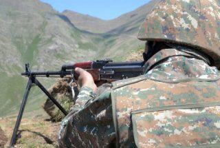 Հայկական առաջապահ ստորաբաժանումները կասեցրել են հակառակորդի ինժեներական աշխատանքները