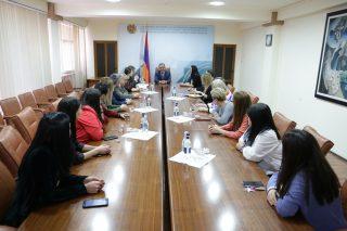 Տիգրան Խաչատրյանը ներկայացրել է Զբոսաշրջության կոմիտեի նորանշանակ նախագահին