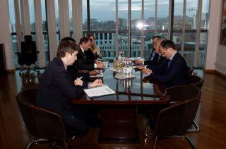 Արթուր Ջավադյանը հանդիպել է ՀԲ նախագահի տեղակալի գլխավորած պատվիրակության հետ