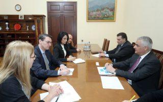 Փոխվարչապետ Մհեր Գրիգորյանն ընդունել է ՄՖԿ տարածաշրջանային կառավարչին