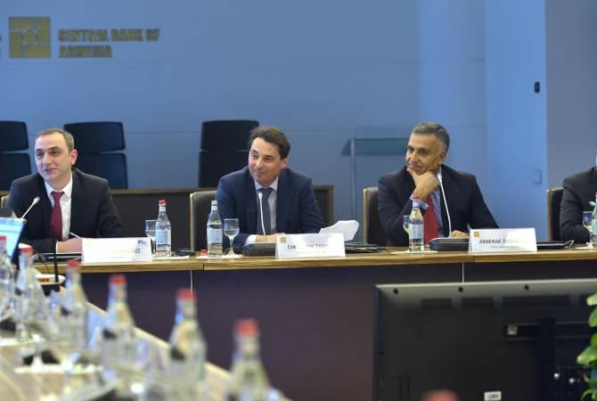 Հայաստանի բանկերի ղեկավարները քննարկել են միկրո և փոքր ձեռնարկություններին ֆինանսական ծառայությունների մատուցման հարցեր