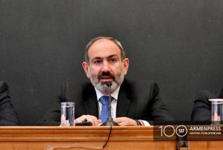 Փաշինյանը կարևորում է կառավարության և Հայաստանի փորձագիտական հանրության միջև աշխատանքային հարաբերությունների հաստատումը