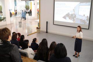 Beeline. Նաիրա Նազարյանը դասախոսություն կարդաց «PR և հաղորդակցային տեխնոլոգիաներ» մագիստրոսական ծրագրի և PR դպրոցի ուսանողների համար