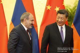 Նիկոլ Փաշինյանը հանդիպել է Չինաստանի ղեկավարի հետ. քննարկվել են հայ-չինական հարաբերությունների հետագա զարգացմանն ուղղված մի շարք հարցեր