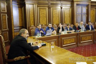 Վարչապետը հանդիպում է ունեցել ռուսական առաջատար ԶԼՄ-ների ներկայացուցիչների հետ